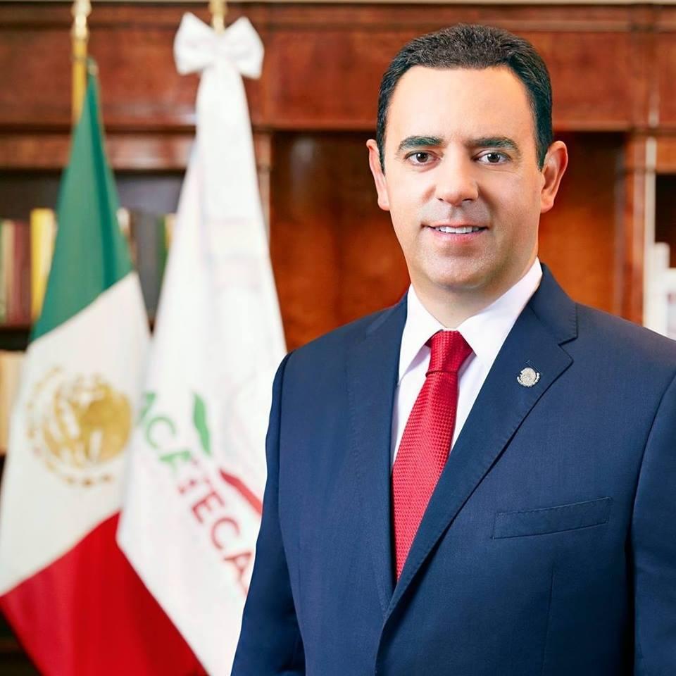 Alejandro Tello Cristerna - Gobernador del Estado de Zacatecas