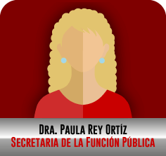 Dra. Paula Rey Ortíz, Secretaria de la Función Pública