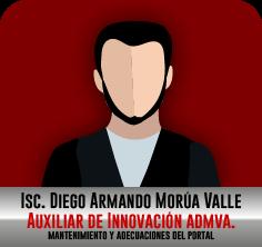 ISC. Diego Armando Morúa Valle, Mantenimiento y adecuaciones del Portal
