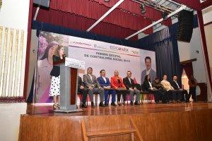 Participación de la secretaria de la Función Pública, Paula Rey Ortiz Medina